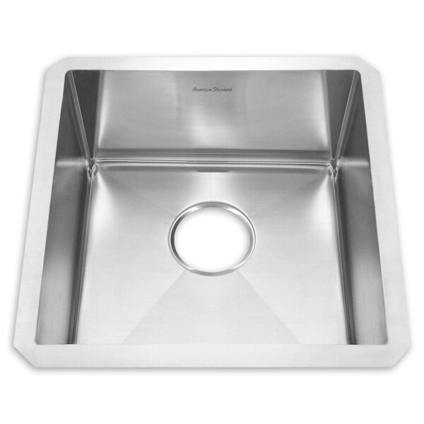 20 L x 20 W Undermount Kitchen Sink by American Standard