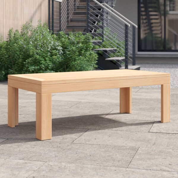 Gillian Wooden Coffee Table by Foundstone