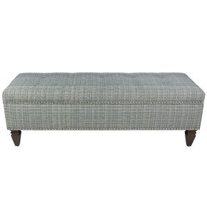 johnsonburg upholstered storage bench