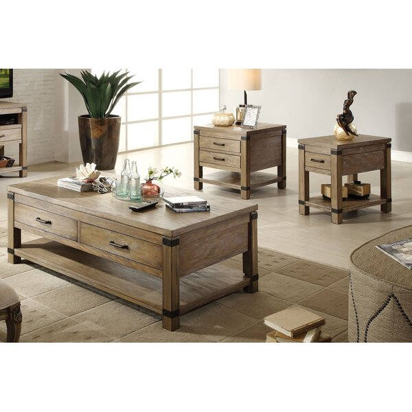 Korbel 3 Piece Coffee Table Set by Birch Lane™