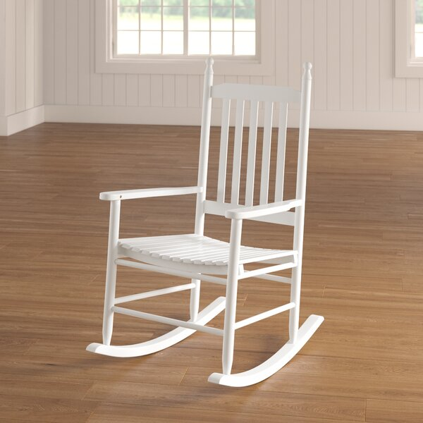 Dahlonega Slat Rocking Chair By August Grove