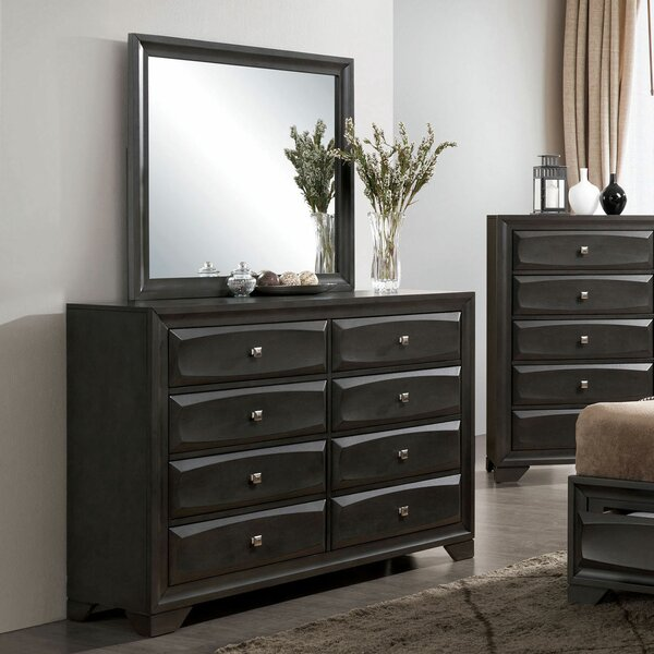 Gerardo 8 Drawer Double Dresser by Alcott Hill
