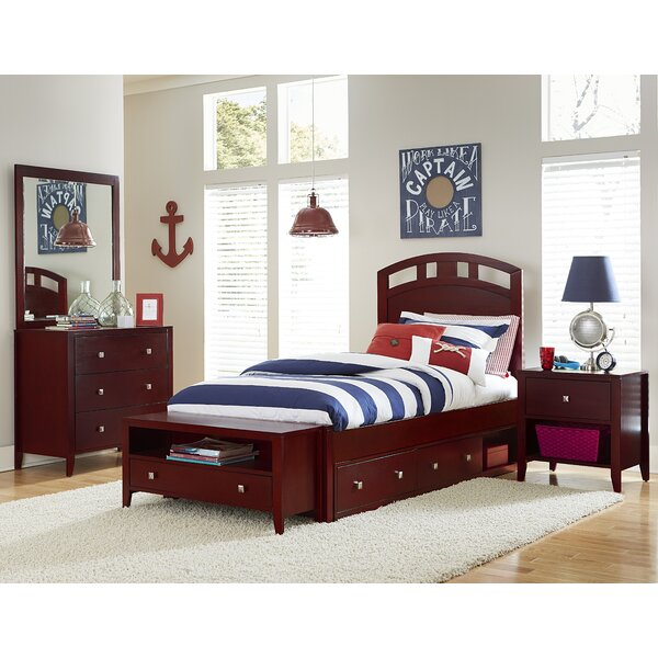 Susan Arch Platform Bed with Drawers by Three Posts Baby & Kids