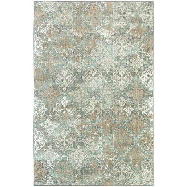 Amani Blue Rug by Bungalow Rose