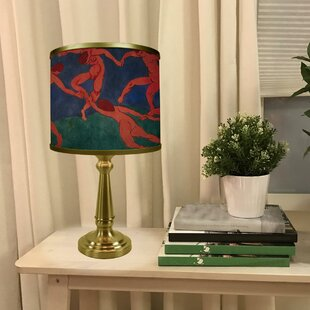 Affordable Dunmore La Danse (II) by Henri Matisse 18 Table Lamp By Red Barrel Studio