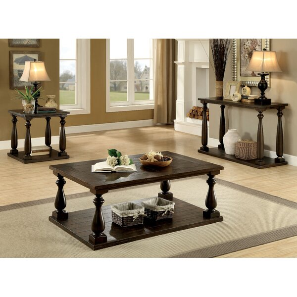 Roehl 3 Piece Coffee Table Set By Canora Grey