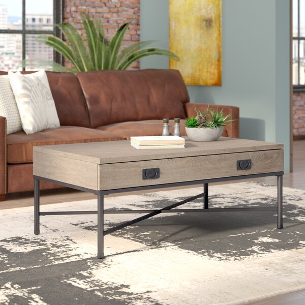 Kori Lift Top Coffee Table with Storage by Williston Forge