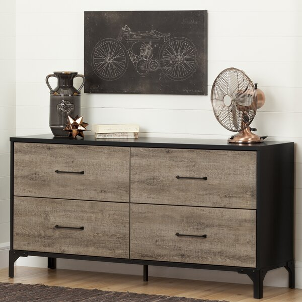 Valet 4 Drawer Double Dresser by South Shore