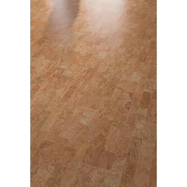 Cork Resist+ 12 Cork Flooring in Identity Spice by Wicanders