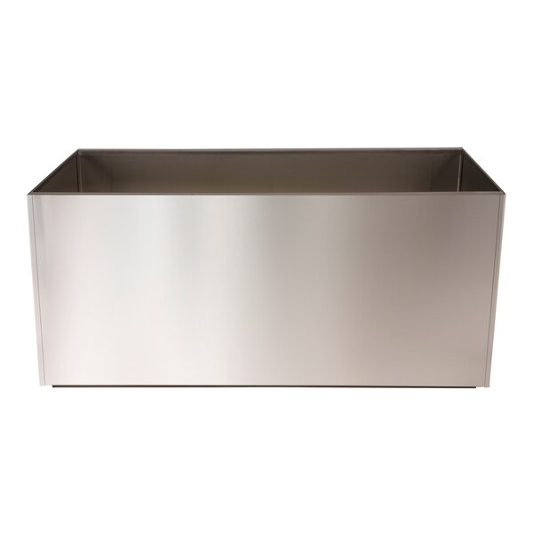 Stainless Steel Planter Box by Nice Planter