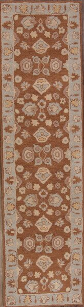 Melissa Tabriz Oriental Hand-Tufted Wool Brown Area Rug