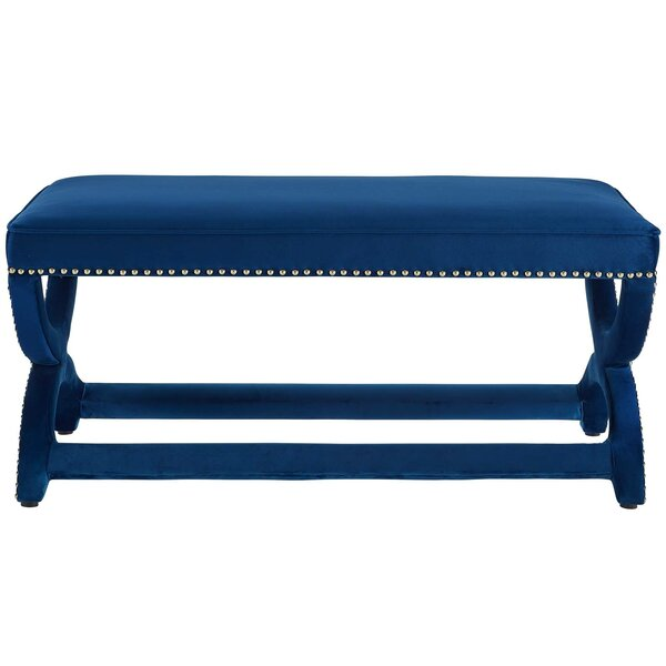 Brunner Upholstered Bench By Mercer41 by Mercer41