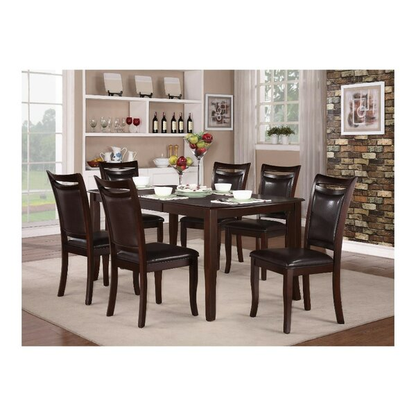 Huntress Extendable 7 Piece Dining Table Set by Red Barrel Studio Red Barrel Studio