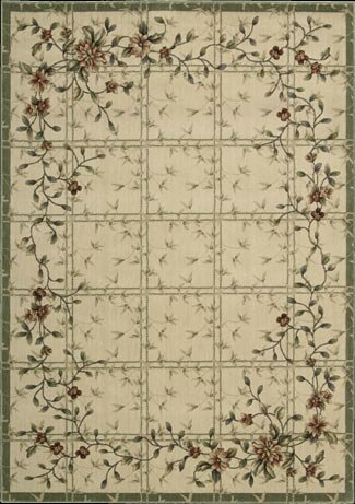 Cambridge Ivory Area Rug by Nourison