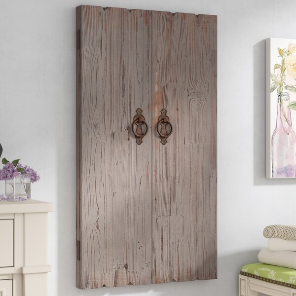 Ilias Wooden Wall Storage Cabinet Jewelry Armoire by Lark Manor