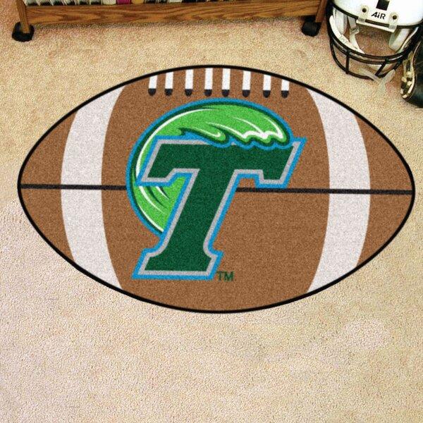 NCAA Tulane University Football Doormat by FANMATS