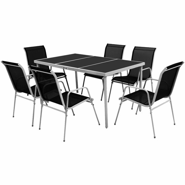 Bacall 6 Seater Dining Set by Sol 72 Outdoor