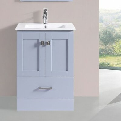 Valenti Modern 24 Single Bathroom Vanity Set by Latitude Run