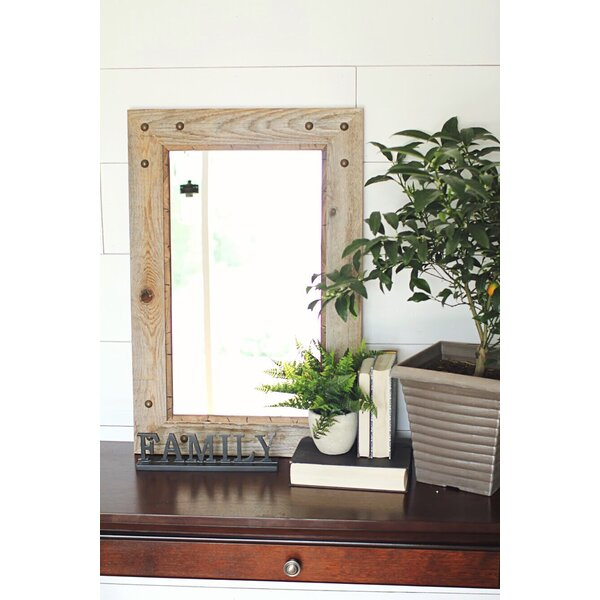 Folcroft Rustic Accent Mirror by Millwood Pines