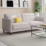 "Pepperell 72"" Square Arm Sofa Bed"