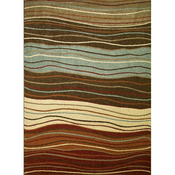 Chester Waves Multi Area Rug by Threadbind