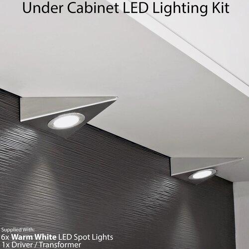 Bohan LED Under Cabinet Puck Light Symple Stuff