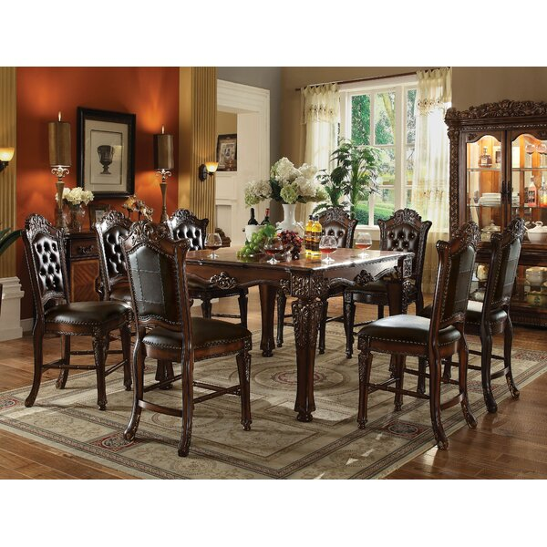 Gadd 9 Piece Pub Table Set by Astoria Grand