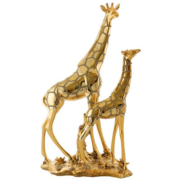 Double Giraffe Figurine by Three Star Im/Ex Inc.