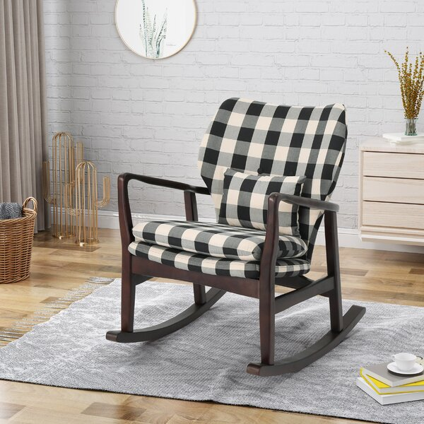 Quamba Rocking Chair By Laurel Foundry Modern Farmhouse