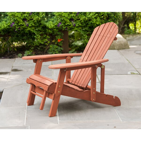 Wood Adirondack Chair by Leisure Season Leisure Season