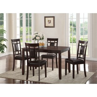 Phares Wooden 5 Piece Dining Set By Winston Porter