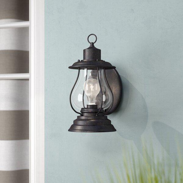 Carina 1-Light Outdoor Wall Lantern by Beachcrest Home