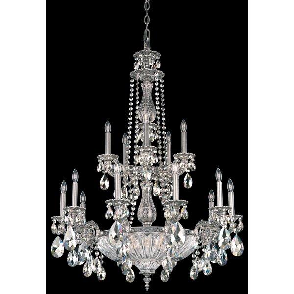 Schonbek Chandelier Wayfair: Schonbek Milano 19-Light Candle-Style Chandelier