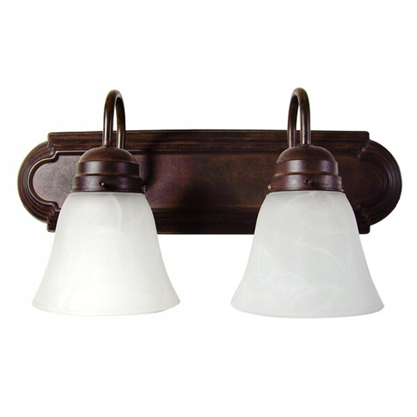 Hadfield 2-Light Vanity Light by Charlton Home