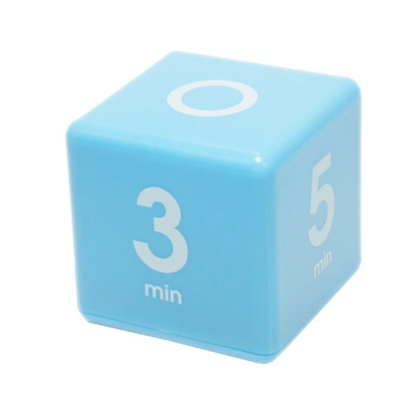 1-3-5-7 Minute Preset Cube Timer by Datexx