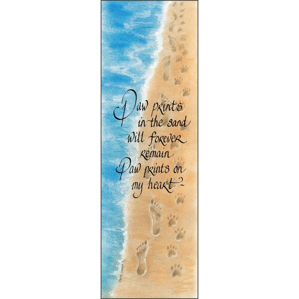 Life Lines Paw by Lori Voskuil-Dutter Graphic Art Plaque by LPG Greetings