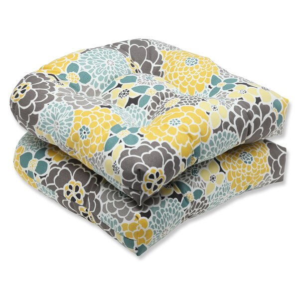 Gillette Indoor/Outdoor Dining Chair Cushion (Set of 2) by August Grove