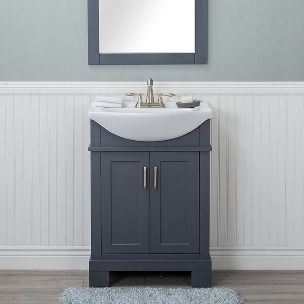 Guzman 24 Single Bathroom Vanity Set by Winston Porter