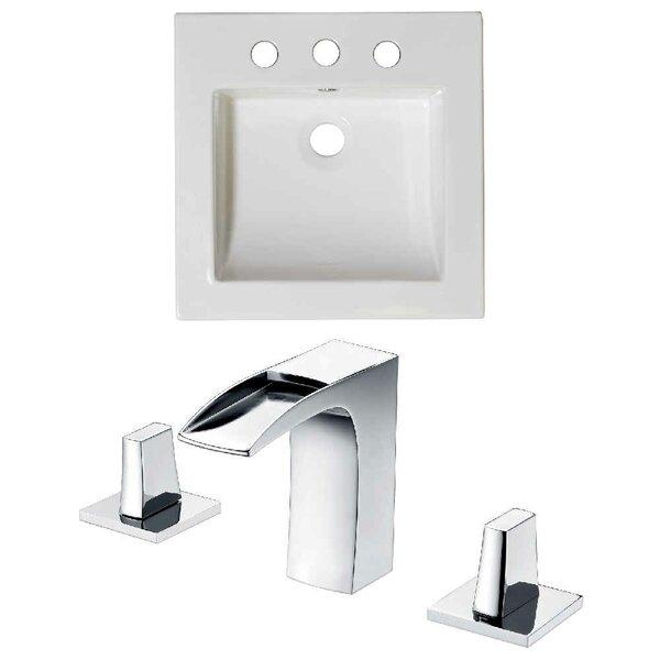 Ceramic 22 Single Bathroom Vanity Top by Royal Purple Bath Kitchen