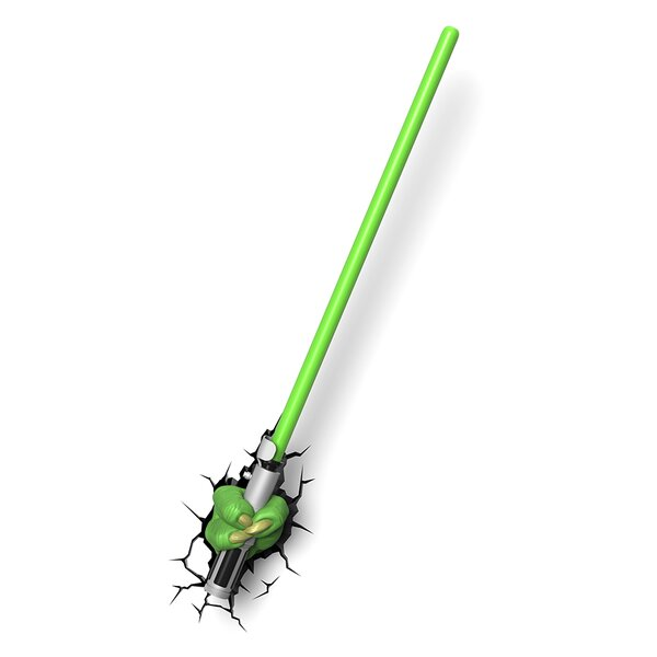 3D EP.7 Star Wars Yoda Saber Deco Night Light by 3D Light FX