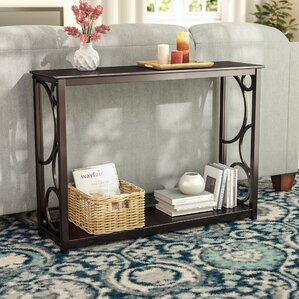 Corrine Wood Console Table by Andover Mills