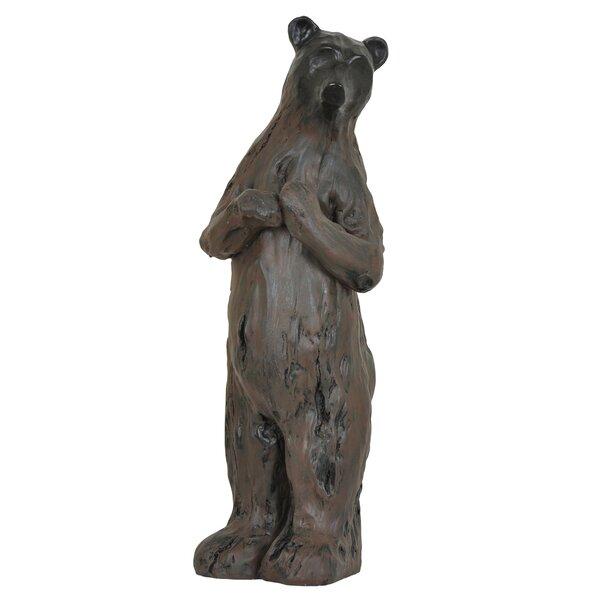 Momma Bear Statue by Loon Peak
