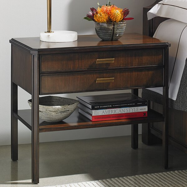 Crestaire Suthbridge 2 Drawer Nightstand by Stanley Furniture