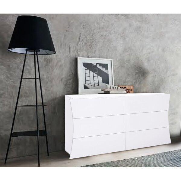 Luevano 6  Drawers Double Dresser by Orren Ellis