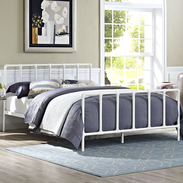 Dower Queen Platform Bed by Modway