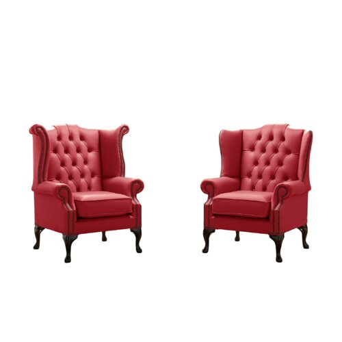 Belfield 2 Piece Wingback Chair Set Astoria Grand
