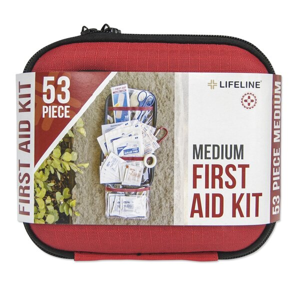 53 Piece First Aid Kit by Lifeline