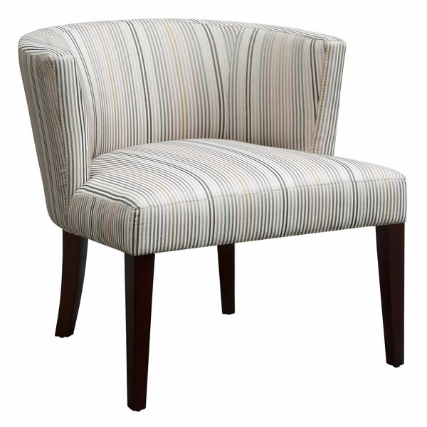 Nicolas Striped Lounge Chair by Langley Street