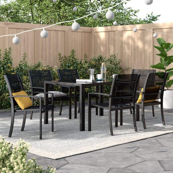 Amberly 7 Piece Dining Set By Zipcode Design
