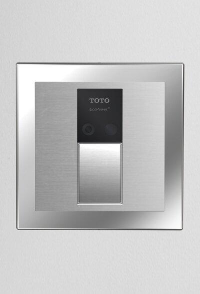 Sensor 1.6 GPF Toilet Flush Valve with Cover (Back Spud Floor)